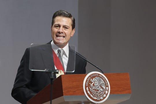 El ex presidente de México Enrique Peña Nieto niega las acusaciones en su contra.