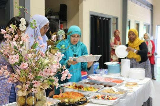 A variety of ethnic cuisine is served during the All for One event in Fishkill June 9.