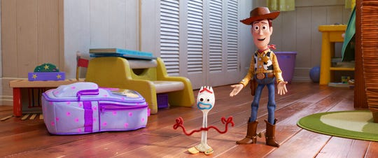 """Toy Story 4"" opens Thursday at Regal West Manchester, Frank Theatres Queensgate Stadium 13 and R/C Hanover Movies."
