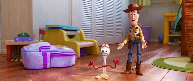"""""""Toy Story 4"""" opens Thursday at Regal West Manchester, Frank Theatres Queensgate Stadium 13 and R/C Hanover Movies."""