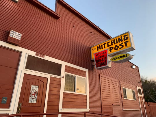 The Hitching Post, famed for its Santa Maria-style barbecue, occupies an 1890s building in the hamlet of Casmalia, Calif., southwest of the city of Santa Maria.