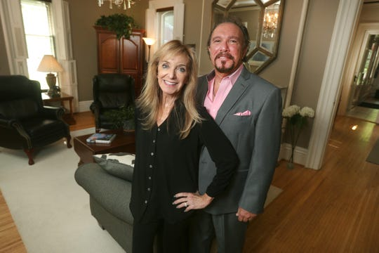 Andrew and Mary Anderson Drago  are the owners of Strawberry Castle in Penfield.