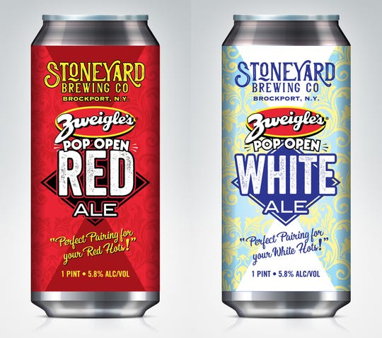 Stoneyard Brewing is releasing two beers to pair with Zweigle's hot dogs later in June.
