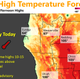 Heat warning and high winds set for Redding