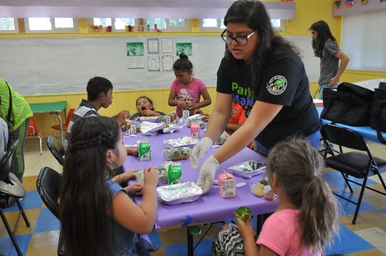 The Central Park Recreation Center in Salinas is one of multiple locations distributing free meals for children under 18 over the summer.