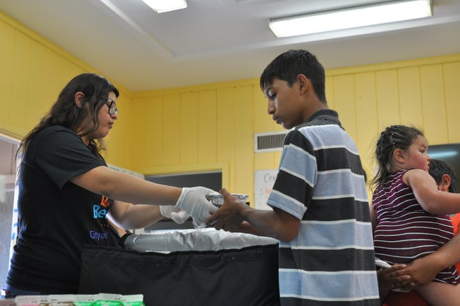 In this 2019 file photo, the Central Park Recreation Center in Salinas is one of multiple locations distributing free meals for children under 18 over the summer.