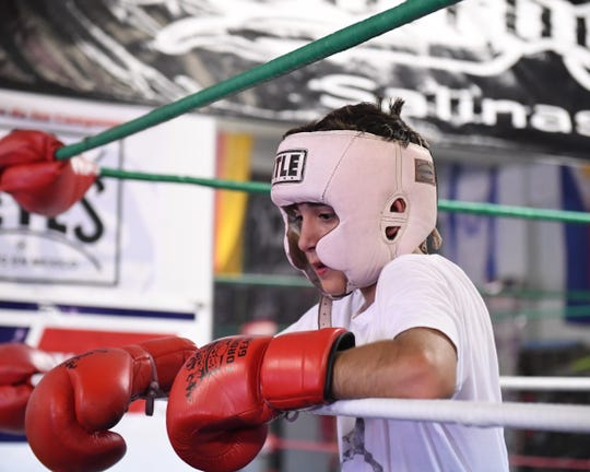Esquivias started boxing when his brother, Daniel, was training at Rock Boxing as a nine-year-old.