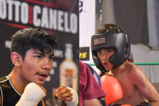 Sean Lopez (left) and Alejandro Esquivias (right) are a pair of Prep-level boxers representing Salinas in the Youth Nationals in Madison, Wis. this weekend.