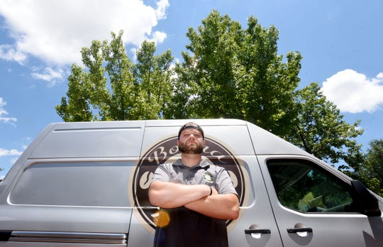 David Hanson owner of the food truck  Boona Coffee Company, is leaving Bossier to operate in Shreveport.