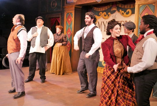 The Music Hall Royale company of THE MYSTERY OF EDWIN DROOD