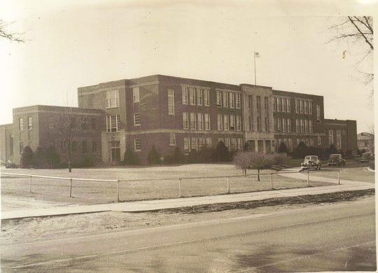 Waynesboro High School around 1940.