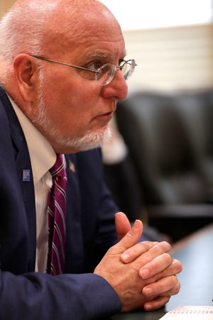 Dr. Robert Redfield, director of the CDC, speaks with the Tallahassee Democrat about HIV treatment and how to stop the spread of the disease Tuesday, June 18, 2019.