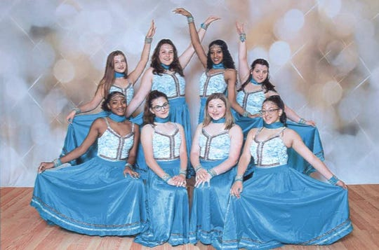 "Best of Entertainment Dancers, (back row, from left) Madelyn Bernhardt, Emally Wroniuk, Cadence Santiago, Victoria Guaracini, and (front row, from left) Mya Harden, Tayla Evans, Kylie Thompson and Angelica DeJesus, are set to perform in the academy's upcoming recital, ""Dance and They Will Come."""