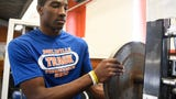 Millville's football standout Solomon DeShields talks about his commitment to the University of Pittsburgh and next year's season with the Thunderbolts.