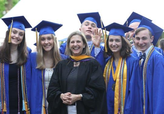 North Salem graduation at Caramoor in Katonah June 17, 2019.