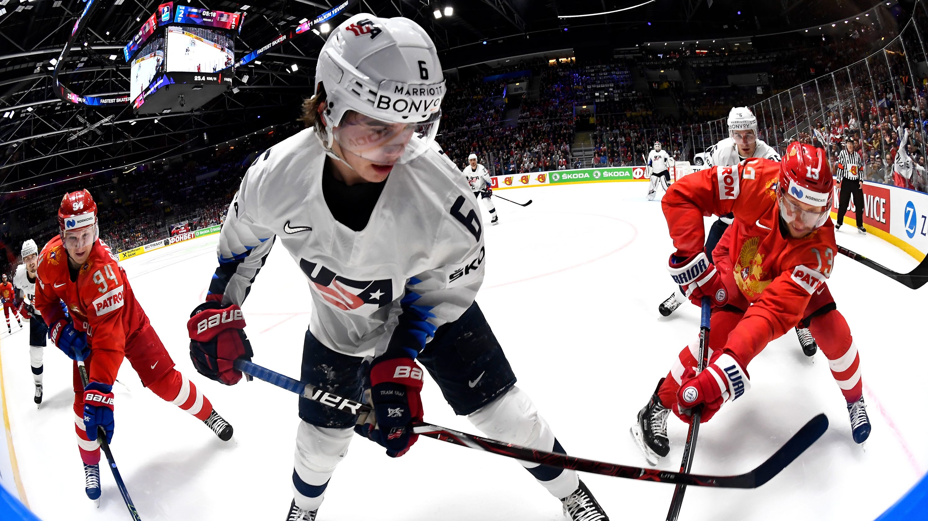 separation shoes 60dce 2a95c NHL draft will have American flavor  Five U.S. players could go in top 10