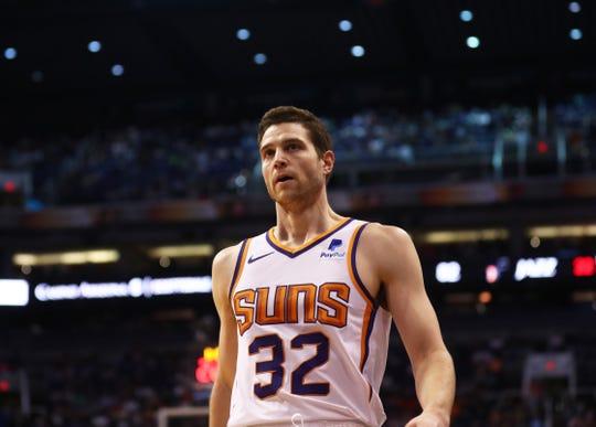 Phoenix Suns guard Jimmer Fredette.