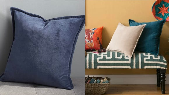 These pillows are one way to give your living room a major facelift.