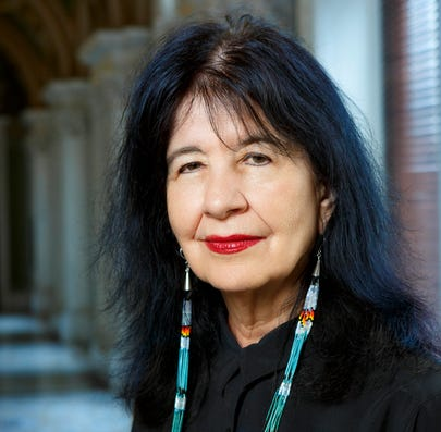 Poet Laureate of the United States Joy Harjo.
