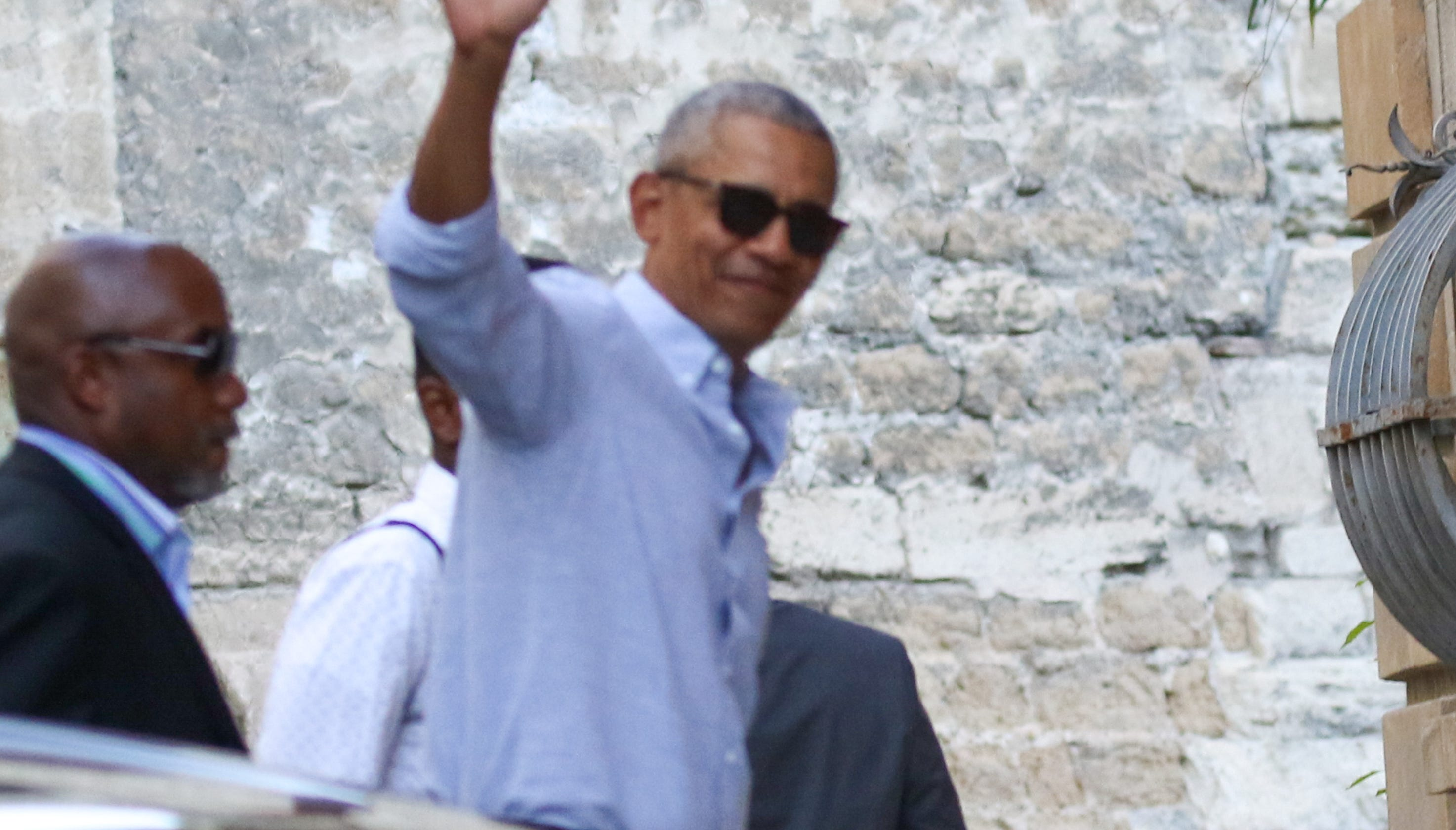 Barack Obama, Michelle, Sasha and Malia on holiday getaway in France