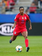 U.S. defender Crystal Dunn