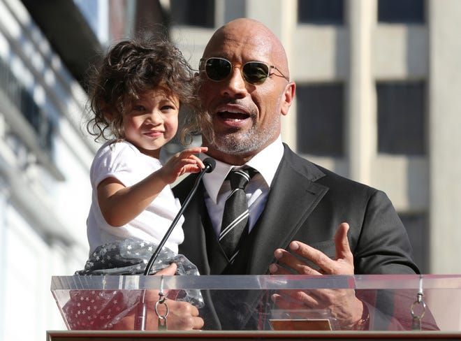 Dwayne Johnson got silly on Instagram when talking about putting together his daughter's Barbie house.