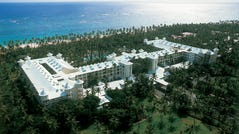 The Hotel Riu Palace Macao in Punta Cana, Dominican Republic. Guests fell mysteriously ill after staying at the resort in April.