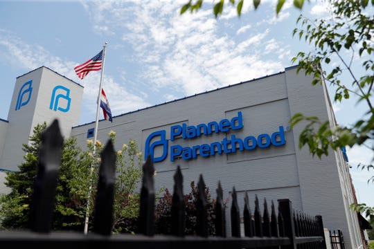 A Planned Parenthood clinic is seen Tuesday, June 4, 2019, in St. Louis.