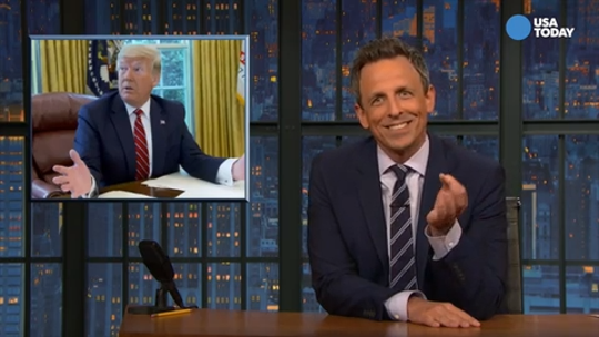 Comics say Trump should be interrupted by coughing more often