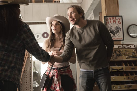 """""""Bless This Mess,"""" which co-stars Lake Bell, left, and Dax Shepard, was recently renewed for a second season on ABC."""
