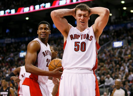 Toronto Raptors forward Tyler Hansbrough.