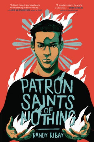 """Patron Saints of Nothing,"" by Randy Ribay."