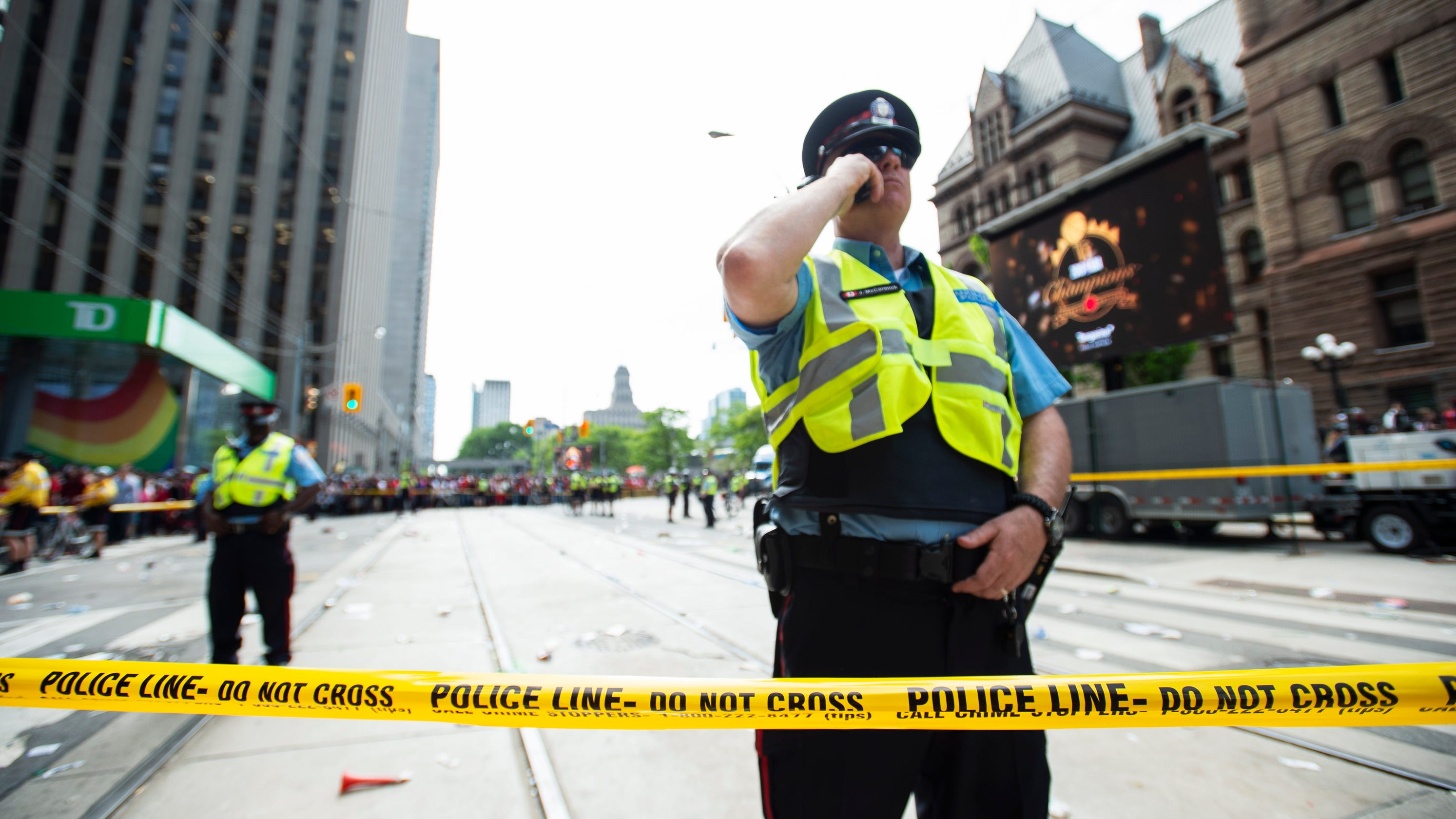 Raptors Parade Shooting: Police Searching For 'person Of