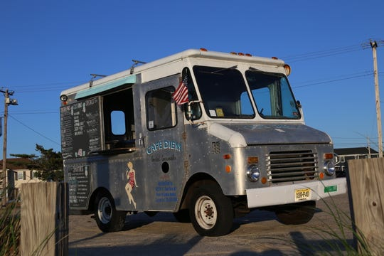 The Cafe Diem food truck, which serves coffee, juices, smoothies and more.