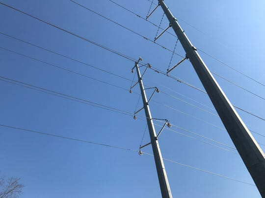 There is a power outage in several parts of western Monmouth County on Tuesday night.