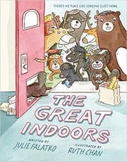 """The Great Indoors"" by Julie Falatko and illustrated by Ruth Chan."