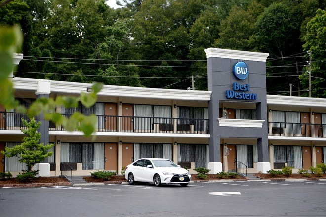 The Best Western Asheville on Tunnel Road on June 18, 2019.