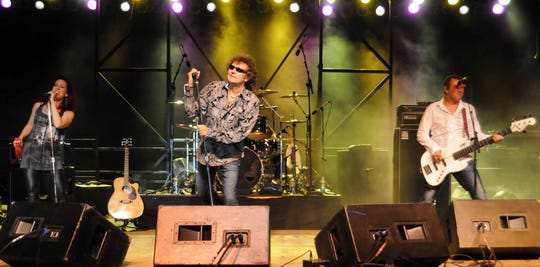 Starship performs on the North Central Stage College stage during the Rock-N-Ribs Festival on the campus in 2012. On Tuesday, Bucyrus Mayor Jeff Reser announced the stage will be donated to the city for Schines Art Park.