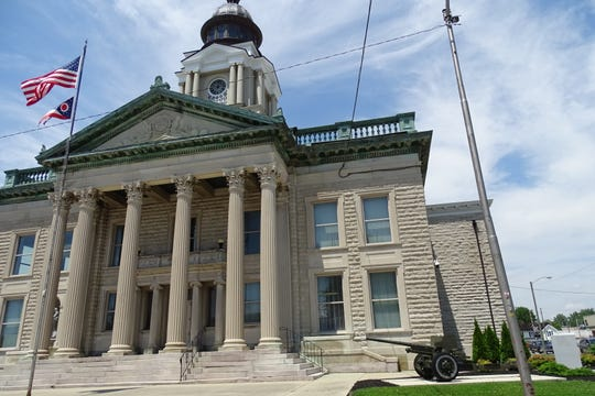 The Crawford County commissioners signed a resolution to reopen the courthouse on May 12.