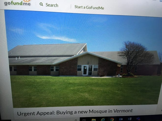 The Islamic Society of Vermont has begun a fundraiser to purchase the former Jesus Christ of Latter Day Saints church building on Swift Street in South Burlington to house a mosque.