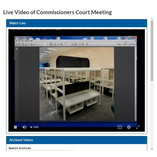 Nueces County Commissioner's Court were shown this image of a bed on Wednesday, June 19, 2019, that will be installed in the new Nueces County Jail McKinizie Annex dormitory.