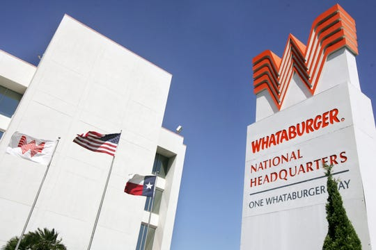 Whataburger National Headquarters in Corpus Christi in July 2008. The company announced plans to move to San Antonio that year.