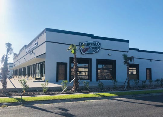 The second Bluffalo Wings and Co. is planned to open in March at 5802 Yorktown Boulevard. It will be larger and have an outdoor patio with live music.