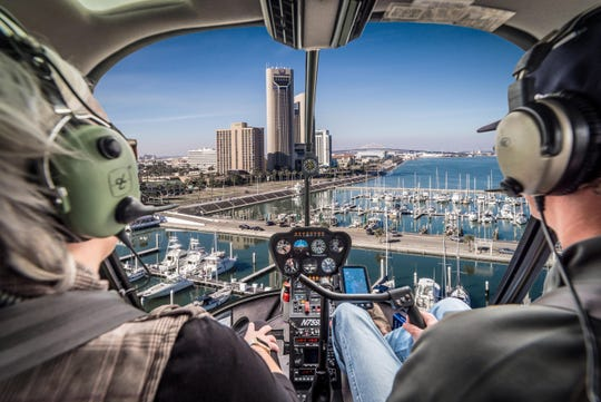Espejo Helicopters offer various aerial tours for tourists and locals in Corpus Christi.