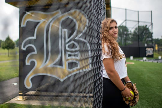 Bordentown's Annabella Pisapia is the Courier-Post's Pitcher of the Year.