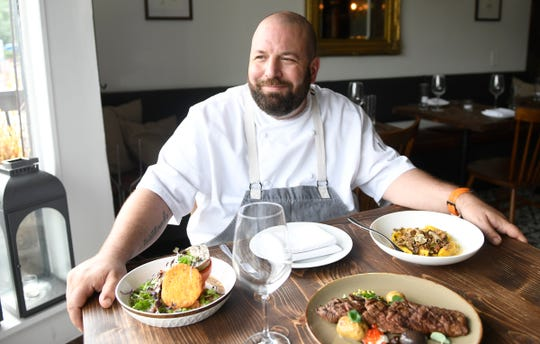 Executive Chef Anthony Marini talks about the menu at Porch & Proper in Collingswood on Tuesday, June 18, 2019.