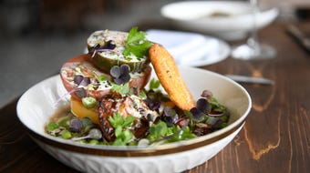 Executive Chef Anthony Marini talks about the menu at Porch & Proper in Collingswood.