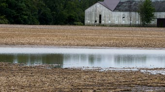 Heavy rainfalls have created planting delays for Ohio farmers.