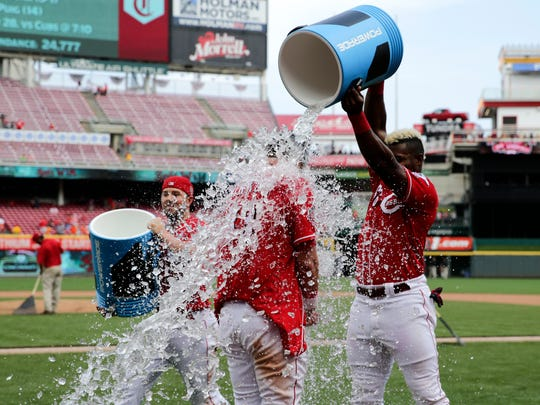Cincinnati Reds: Walk-off single from Winker means sweep of