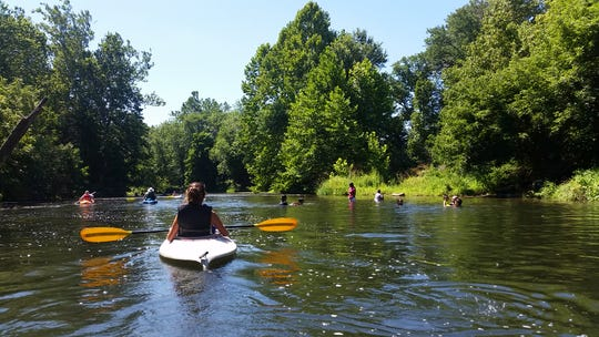 Raritan Headwaters conducts sojourns to connect residents to the river and encourage stewardships.